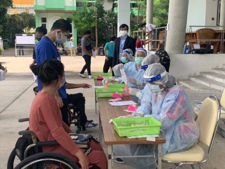 'มูลนิธิพระมหาไถ่ฯ' เตรียมจัดบริการ เปิดกว่า 120 ห้อง ดูแลผู้พิการติดโควิด รองรับทั้งวีลแชร์ – ผู้พิการที่ยังเดินได้